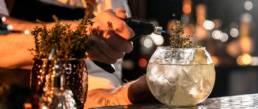 Cocktail Barman Jongleur