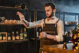 Barman Jongleur Flair Bartending