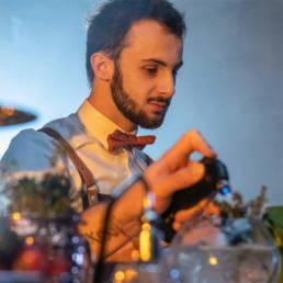 Seb, expert en cocktail mixologie