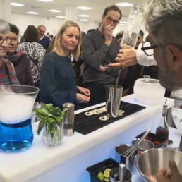 Cocktails cryogénisés