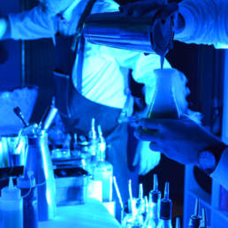Barman chimiste mixologie