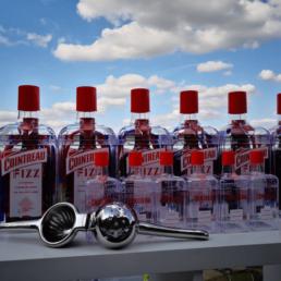 Atelier Cointreau Fizz bouteilles