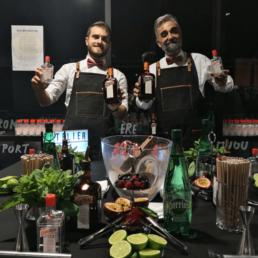Atelier Cointreau Fizz mixologie